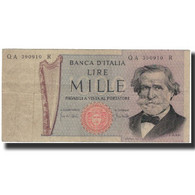 Billet, Italie, 1000 Lire, 1969-03-25, KM:101a, TB - [ 2] 1946-… : Républic