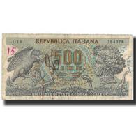 Billet, Italie, 500 Lire, 1967-10-20, KM:93a, B - [ 2] 1946-… : Républic