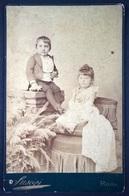 Ritratto Di Due Bambini - Roma, Suscipi, Ca. 1890. - Foto