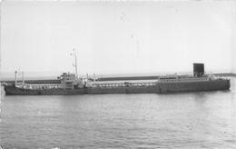 """¤¤  -  Carte-Photo Du Bateau De Commerce """" POITOU """" En 1954 -  Cargo    -  ¤¤ - Commerce"""