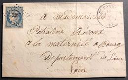 1850 Céres N°4 Sur LAC Oblitéré PC 3257 Avec Dateur Type 14 1er Choix - 1849-1850 Ceres
