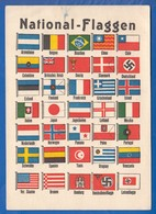 Sport; Olympiade 1936, Flaggen Beteiligter Nationen - Olympische Spiele