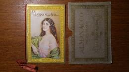 """Calendarietto Profumato """"La Donna Nell'arte"""" 1934 Laboratori Chimici Pierandrei - Formato Piccolo : 1921-40"""