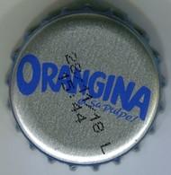 CAPSULE-ORANGINA Argent & Bleu - Soda