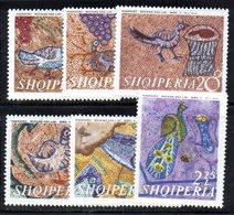 331 - 490 - ALBANIA 1970 ,    Yvert N. 1247/1252  ***  Mosaici - Albania