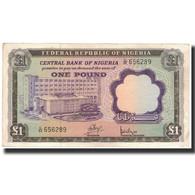 Billet, Nigéria, 1 Pound, 1968, KM:12a, TTB - Nigeria