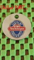 Shopping Carts / Winkelwagentjes / Jeton De Caddie - Deutsche Stockmeyer Markenwurst , Sassenberg, Duitsland. - Trolley Token/Shopping Trolley Chip