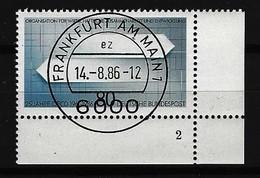 BUND - Mi-Nr. 1294 Mit Formnummer 2 Gestempelt - [7] République Fédérale