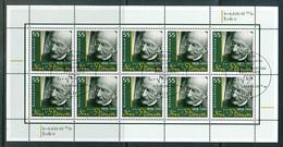 GERMANY  Mi.Nr. 2658 Max Planck - ESST Berlin - Kleinbogen - Used - [7] Federal Republic