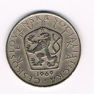 TSJECHOSLOWAKIJE  5 KORUN  1969 - Tchécoslovaquie
