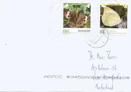Netherlands Antilles 2017 Bonaire Junonia Kricogonia Butterfly Cover - Curaçao, Antille Olandesi, Aruba