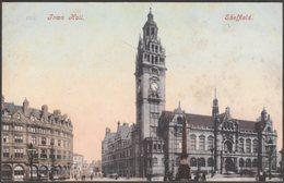 Town Hall, Sheffield, Yorkshire, C.1905 - Blum & Degan Postcard - Sheffield