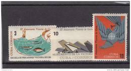 Cuba Nº 705 Al 707 - Cuba