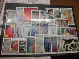 Kuba 1967 Gemälde Kunstausstellung 1319-1343 Kompletter Satz Postfrisch MNH - Kuba