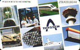 GERMANY S02/95 - Thyssen - Train - Germany
