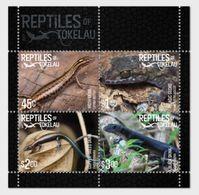 Tokelau 2017 -  Reptiles Of Tokelau Souvenir Sheet Mnh - Tokelau