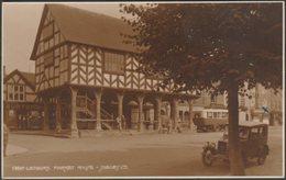 Market House, Ledbury, Herefordshire, C.1931 - Judges RP Postcard - Herefordshire