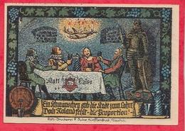 Allemagne 1 Notgeld  50 Pfenning Calbe A Saale  Lot N °1507    Dans L' état - [ 3] 1918-1933 : Weimar Republic