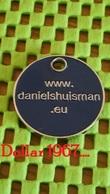 Shopping Carts / Winkelwagentjes / Jeton De Caddie -  Netherlands  -  Daniels Huisman Avocaten - Trolley Token/Shopping Trolley Chip