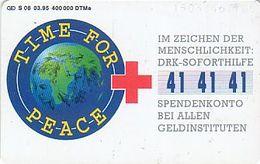 GERMANY S08/95 - Rote Kreuz - Peace - Germany