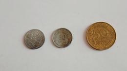 Lot De Pièces 50 Centimes (morlon, Francisque, Marianne) - G. 50 Centimes
