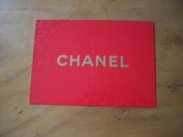 Carte Chanel Christmas Wish List - Perfume Cards