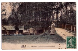 1398 - Brunoy ( S.& O. ) - Passerelle Et Lavoir Sur L'Yerres - Thibault à Melun - N°2303 - - Brunoy