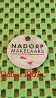 Shopping Carts / Winkelwagentjes / Jeton De Caddie -  Netherlands  -  Nadorp Bedrijfsmakelaars Den Haag - Trolley Token/Shopping Trolley Chip