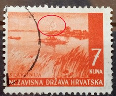 LANDSCAPES-7 K-SLAVONIJA-ERROR C-RARE-NDH-CROATIA-1941 - Croatia