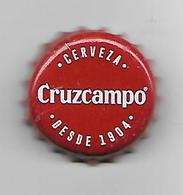 ESPAGNE / CAPSULE DE BIERE CRUZCAMPO - Beer