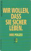 GERMANY S16/95 - Polizei - Police - Germany