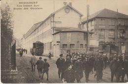 Beaucourt - Les Usines Japy, Sortie Des Ouvriers - Beaucourt