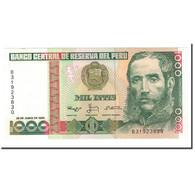 Billet, Pérou, 1000 Intis, 1986-1988, 1988-06-28, KM:136b, SPL - Pérou