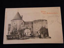 CPA Gruss Aus Rodemachern Rodemack Eingangsthor 1901 - Francia