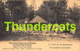 CPA ONZE LIEVE VROUW VAN DE KEMPEN TE RAEVELS BIJ TURNHOUT EEN SPEELPLEIN IN DE BOSSCHEN - Turnhout