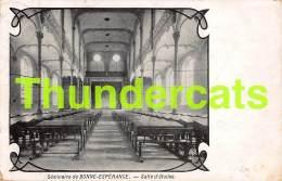 CPA SEMINAIRE DE BONNE ESPERANCE SALLE D'ETUDES  ( BINCHE ) - Binche