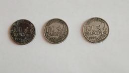 Lot De Pièces 100 Francs Cochet - N. 100 Franchi
