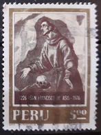 PERÚ 1976 The 750th Anniversary Of The Death Of Saint Francis Of Assisi, 1181-1226. USADO - USED. - Peru