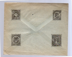 Advertisement Cover Perak Japan Ecuador Colombia RARE ONE Around 1910 (ro67) - Storia Postale