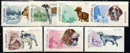 341 - 490 - ALBANIA 1966 ,    Yvert N. 932/937  *** Cani - Albania