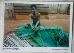 POSTAL DE CAMBOYA - Camboya