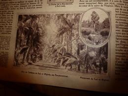 1919  LES ANNALES:Paul Et Virginie Et Tombeau;L'île Maurice;Oxford;Massevaux;Vue Future De 1965;Pub Benjamin Rabier;etc - Sonstige
