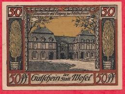 Allemagne 1 Notgeld  50 Pfenning Mefel Lot N °1535 (RARE)  Dans L' état - [ 3] 1918-1933 : Weimar Republic