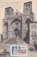 Carte-Maximum FRANCE N° Yvert 2825 (Abbaye De LA CHAISE-DIEU) Obl Sp FLAMME Ill 1er Jour Sur Carte Ancienne RRR - Cartes-Maximum