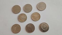 Lot De Pièces 5 Francs (Semeuse & Commémorative) - Francia