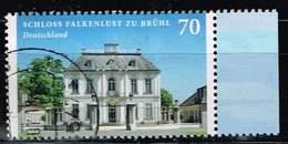 Bund 2018, Michel# 3354 O Burgen Und Schlösser: Schloss Falkenlust Zu Brühl - BRD
