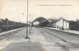 CPA - Gare -  Rivesaltes - Vue Générale De La Gare. - Altri Comuni