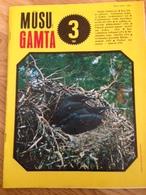 Magazine Nature 1988 Lithuania Animals Birds - Magazines