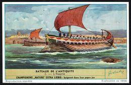 LIEBIG - FR -  1 Chromo N° 2 - Série/Reeks S 1584 - Bateaux De L'Antiquité: L'Assyrie. - Liebig