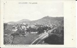CPA - Gare -  Collioure - Vue Générale. - Altri Comuni